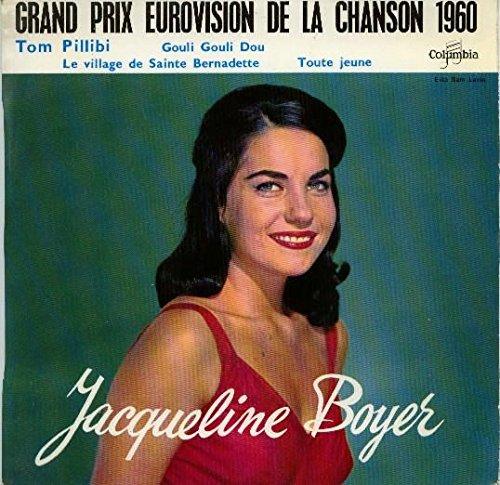 grand prix eurovision 1960 - tom pillibi / le village de ste bernadette / toute jeune / gouli gouli dou