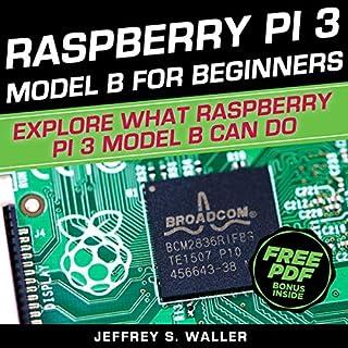 Raspberry Pi 3 Model B for Beginners audiobook cover art