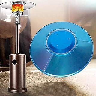 Bouclier de réflecteur de chauffage de patio, bouclier de réflecteur de mise au point de chaleur amovible rond pour access...