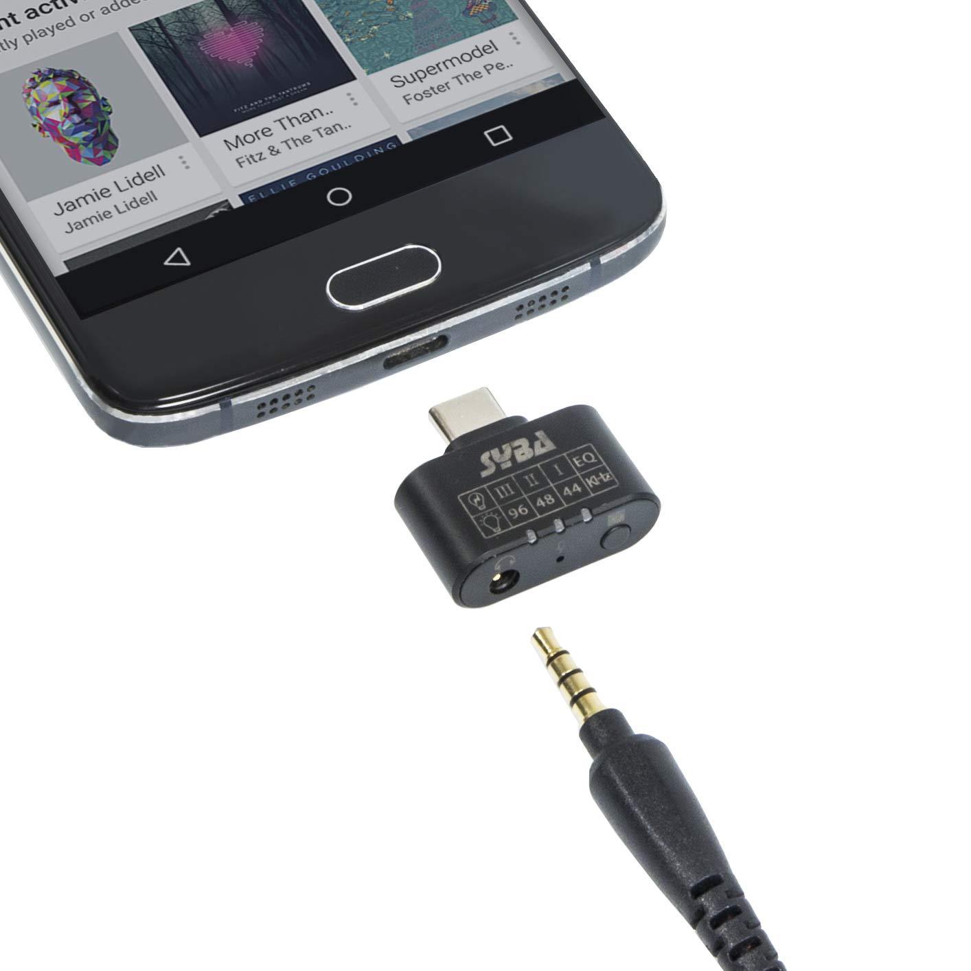 Type C Adapter Headphone Amplifier Support
