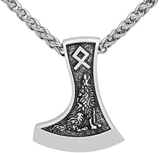 viking axe pendant meaning
