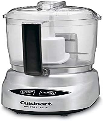 Cuisinart CGC-4PCFR 4-Cup Mini Prep Food Processor Silver (Renewed)