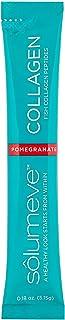 Solumeve Marine Collagen Peptides Plus Vitamin C & Hyaluronic Acid, Pomegranate, 30 Packets, 0.18 oz (5.15 g) Each