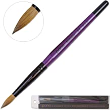 Profession Purple Wood Kolinsky Acrylic Nail Brush (Size: 6, 8, 10, 12, 14, 16, 18, 20,..