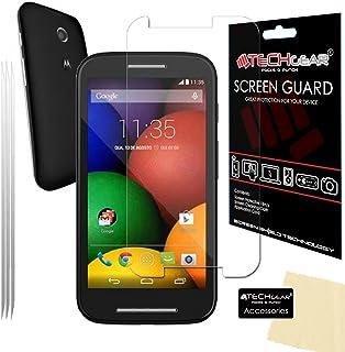 TECHGEAR [3-pack] skärmskydd för MOTO E (XT1021 / XT1022) - Ultra Clear LCD-skärmskydd skydd skydd kompatibel med Motorola...