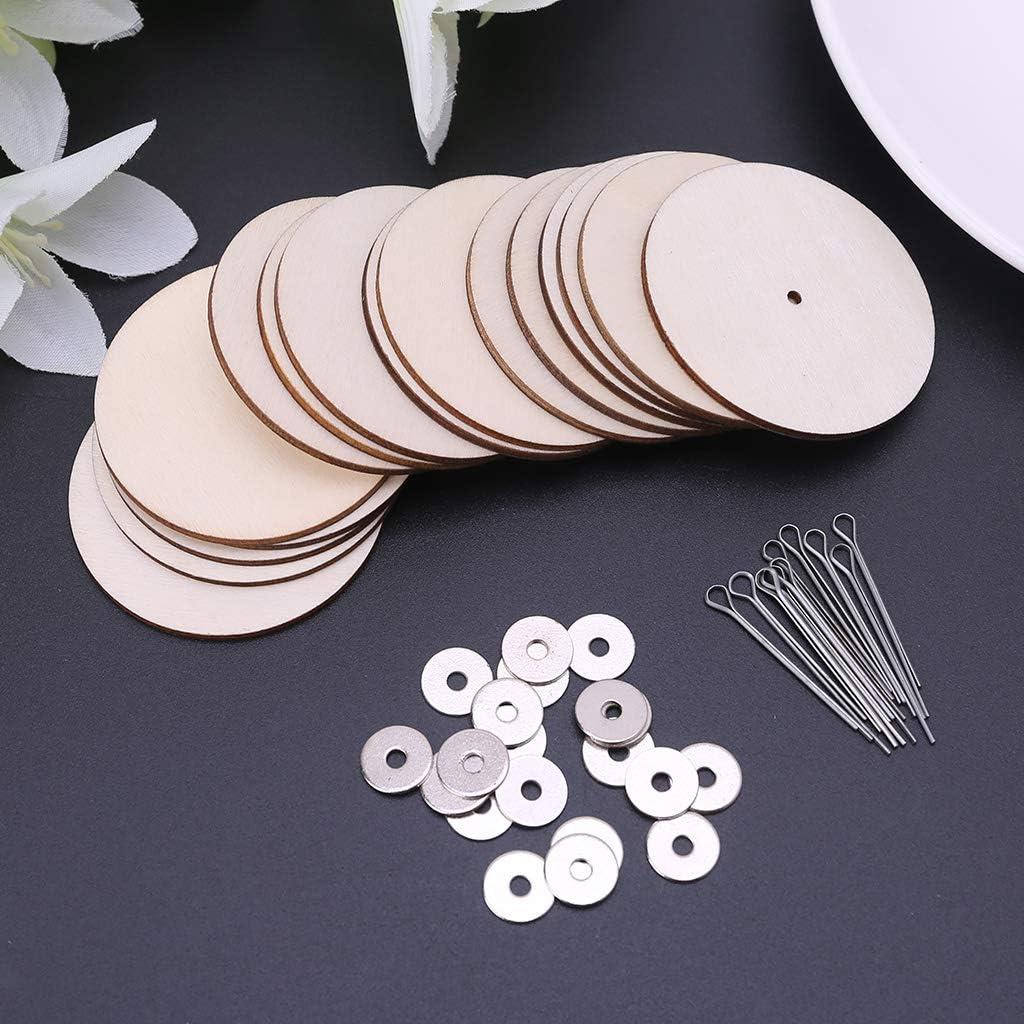 ZJL220 10 Sets Wood Joints Connectors for Handmade Bear Craft Children Kids Toy DIY Scrapbooking Manual Handicraft Accessories