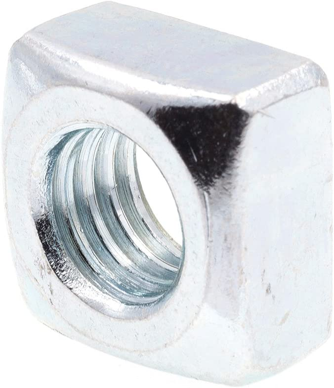 Prime-Line 9192695 Square Nuts 1 Steel Zinc Al sold out. in.-13 Plated 2 overseas