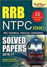 RRB NTPC PREVIOUS YEARS SOLVED PAPERS (STAGE-1): Railway Recruitment board