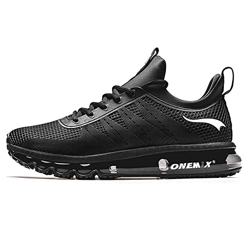 reputable site bb919 fec7a ONEMIX Men s Air Cushion Sports Running Shoes Walking Casual Sneaker