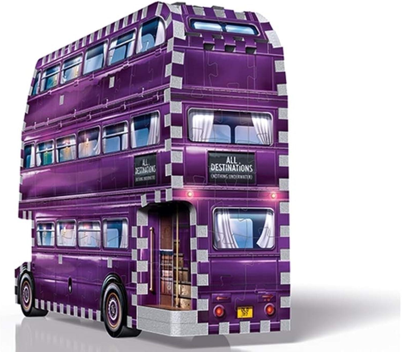 Unbekannt 3D-Puzzle Harry Potter Der Fahrende Ritter 280 Teile B07PJKN1NN Bestellungen sind willkommen    Vorzügliche Verarbeitung