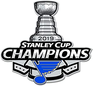 St. Louis Blues Stanley Cup Champions 2019 Heavy Duty Steel Sign