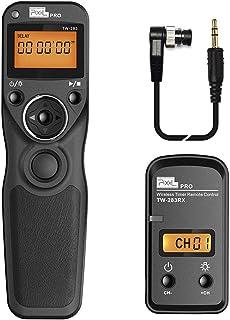 RC-201 cable de liberación del obturador Cable de control remoto para Nikon D810 D800E D850 D700 D5 D4 D3