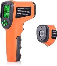 FOSHIO Tacómetro digital sin contacto, fotocélula 10-99,999 RPM de alta precisión con funciones de retención de datos de r...