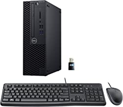 Dell 3070 SFF Desktop PC Bundle with Keyboard Mouse, Intel Core i5-9500 3.0GHz 6 Core (Hexa Core), 16GB DDR4 RAM, 500GB NV...