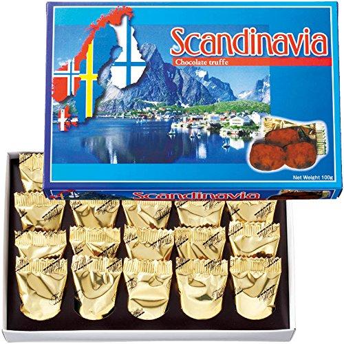 北欧 土産 スカンジナビア チョコトリュフ 1箱 (海外旅行 北欧 お土産)