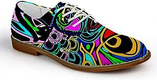 Colorful Men's Fashion Plain Toe Oxford Dress Shoe