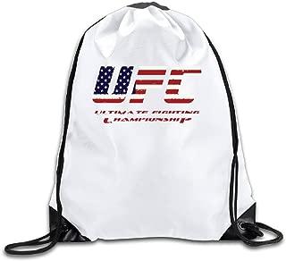 U.T.HOME UFC Championship MMA Drawstring Backpack/Sackpack Gym Bag/Daypack