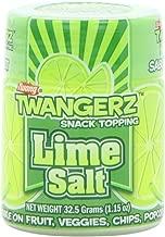 Twangerz Snack Topping, Lime Salt, 1.15-Ounce Shaker (Pack of 10)