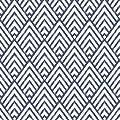 "Livebor Arrowhead Deep Blue Peel and Stick Wallpaper,196.8""X 17.7"" Blue Wallpaper Wall Decorative Removable Wallpaper Stripe Self Adhesive Wall Paper Vinyl Film Shelf Drawer Liner Wall Covering"