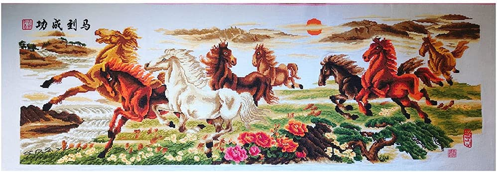 Cross Embroidery Handicraft Art Opening large release sale in Safety and trust Hanging Painting Th