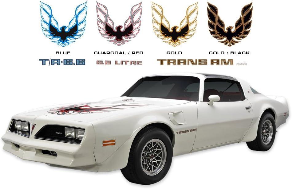 Amazon Com 1978 Pontiac Trans Am Decals Stripes Kits Charcoal Red Automotive