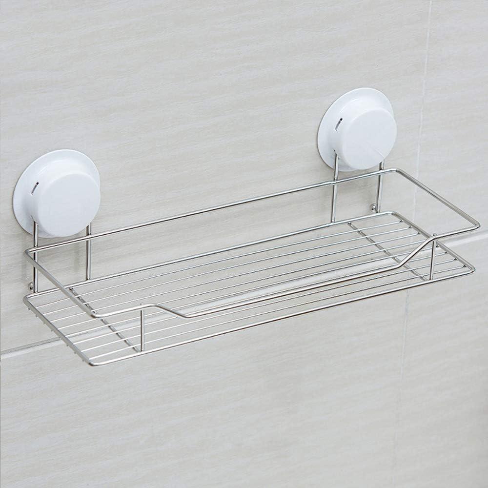Jabetc Bathroom Shelf Modern Silver Suction Ranking TOP8 Strong Rectangle Cup Rare