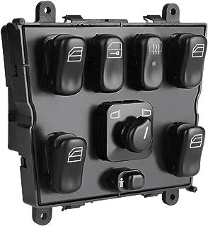 Power Window Switch 1638206610 for Mercedes Benz W163 ML320 ML430 ML500 ML55 AMG 1998-2003 Mirror Switch Door Lock