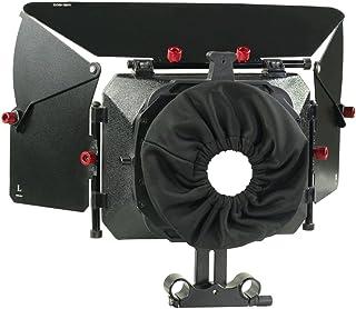 Proaim Matte Box Cover for DSLR Shoulder Rig Focus 15mm Rods Camera
