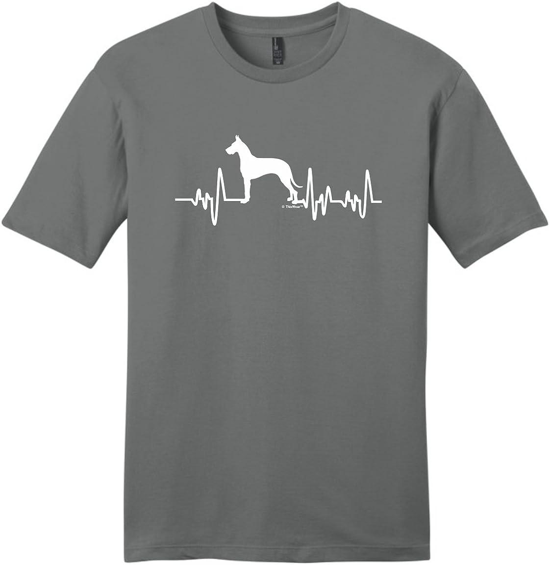 Comfortable Great Dane Heart Standard Unisex T-shirt Standard Unisex T-shirt