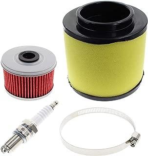 AUTOKAY Air Filter Tune Up Kit for Honda ATV TRX250 TRX250TE Recon TRX250EX TRX250X RECON 250 17254-HM8-000