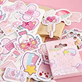 BLOUR Girlhood Forest Stickers Set Pegatinas Decorativas de papelería Scrapbooking DIY Diary Album Stick Lable