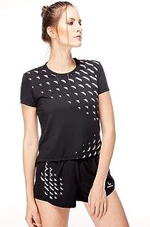 Women Sports Yoga Shirt Breathable Running Exercises Fitness T-Shirt