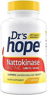Dr's Hope Pure Nattokinase 2000 FU - Supports Circulatory and Cardiovascular Health - Non-GMO, Gluten Free, Vegan, No Arti...