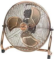 Élégant brasseur d'air pour apporter une agréable sensation de fraîcheur dans le salon, la chambre à coucher ou le bureau, Combinable avec tous les styles d'ameublement Production d'air particulièrement puissante grâce au moteur à bobine en cuivre de...