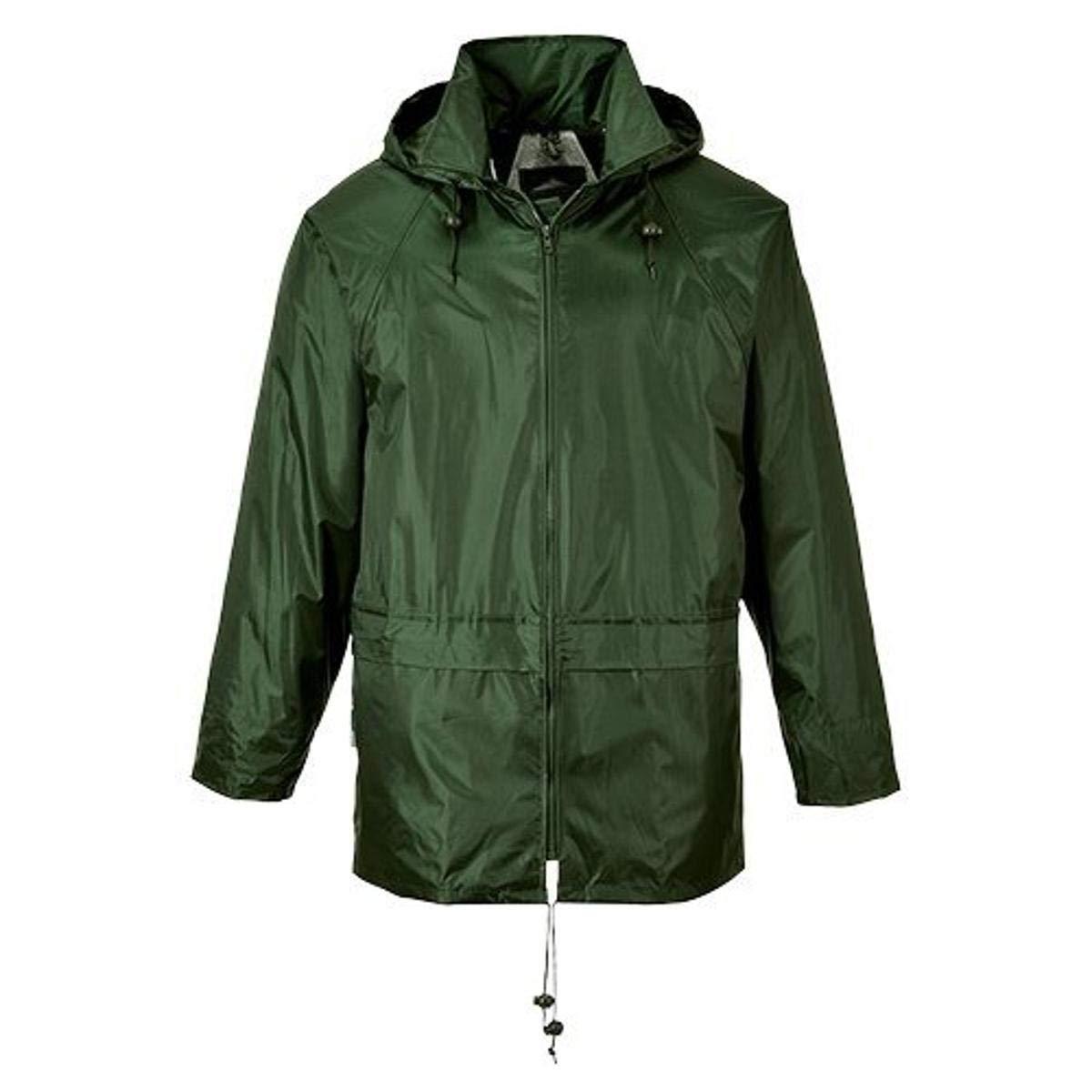 Portwest US440OGR5XL Classic Rain Jacket, Fabric, 5XL, Olive