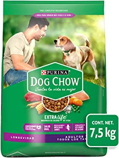 Dog Chow Comida para Perro Longevidad Senior Edad Madura