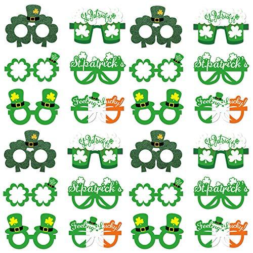 25 piezas St. Patrick's Day Table Topper, Proveedores de Decoración de palos de centro de mesa de fiesta del día de San Patricio