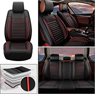DBL 5SeatLeatherCarSeatCoverFullSetFit for Volkswagen Caddy Touareg Phaeton Scirocco Cabriolet Sharan Exclusive Amarok UP AutomotiveSeatCoversAccessoriesType A Black