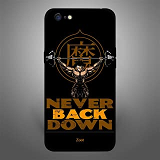 Oppo A71 Never Back Down, Zoot Designer Phone Covers