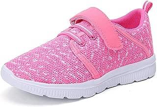 Kids Lightweight Breathable Running Sneakers Easy Walk...
