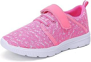 آلبرتینا کودکان و نوجوانان سبک کفش تنفس در حال اجرا تناسب اندام آسان رفتن ورزش کفش های گاه به گاه برای دختران دخترها