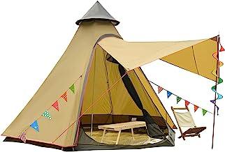 12'x10'x8'Dome Camping Tent 5-6 Person 4 Season Double...