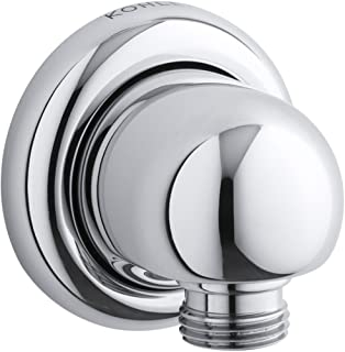 KOHLER K-9513-CP MasterShower Wall Supply Elbow, Polished Chrome