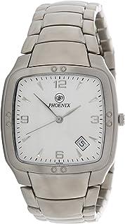 Phoenix Wrist Watch For Unisex Analog Stainless Steel, P11249M