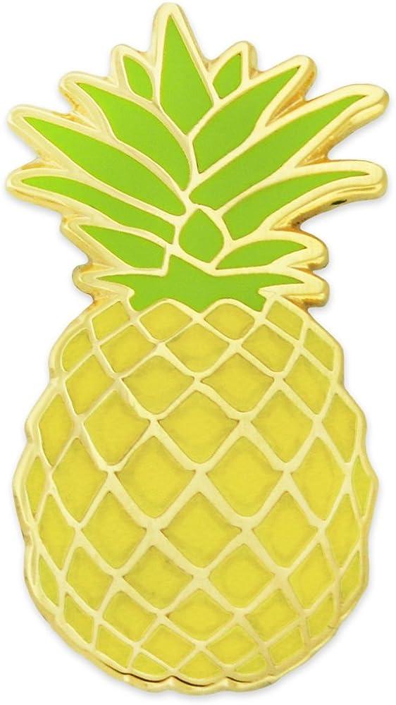 PinMart Culinary Hospitality Pineapple Fruit Enamel Lapel Pin