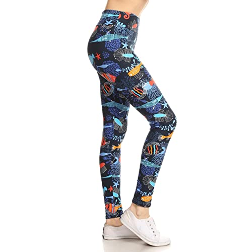 7bcecc9211abf Leggings Depot Yoga Waist REG/Plus Women's Buttery Soft Leggings