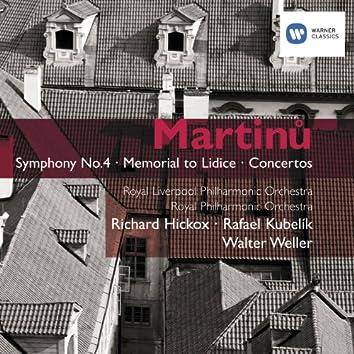 Martinu: Symphony No. 4 & Concertos