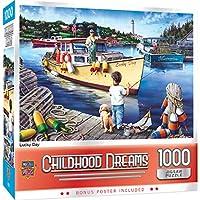 傑作子供時代の夢ラッキーデージグソーパズル、1000ピース