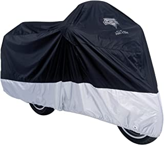 Nelson-Rigg Deluxe Motorcycle Cover (Large) (Black/Silver)