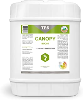Canopy Boost Plant Foliar Spray, Corrects Common Yellowing by TPS Nutrients, 5 Gallon (640 oz)